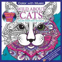 Color with Music Wild About Cats
