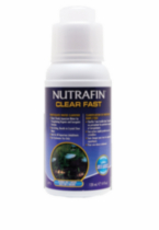 Nutrafin Clear Fast - Particulate Water Clarifier, 120 mL (4 fl.oz)
