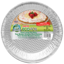 Handi-foil Three Large Pie Pans