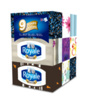 Royale Facial Tissue 9 Pack 3 ply