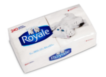 Serviettes de table de Royale