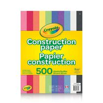 500 Sheets Construction Papier