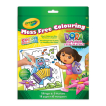 Color Wonder Dora Colouring Pad & Markers