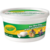 Air Dry Clay - White
