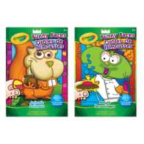 Funny Faces Colouring & Sticker Book