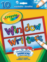 10 Window Writers™ Washable