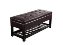 Essex Rectangular Tufted Storage Ottoman