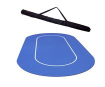 sure stick Rubber Foam poker Table Top Blue