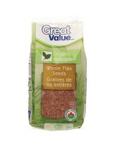 Great Value Organic Whole Flax Seeds