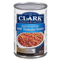 Clark Beans with Pork & Tomato sauce 398ml