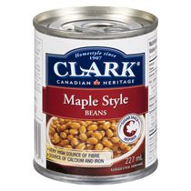 Clark Maple Style Beans 227ml