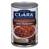 Clark Dark Brown Beans with Pork & Molasses 398ml