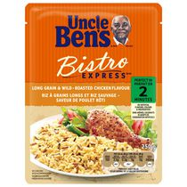Uncle Ben's BISTRO EXPRESS® Roasted Chicken Flavour Long Grain and Wild Rice