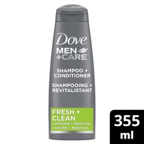 Dove Men+Care Fresh Clean 2 in 1 Shampoo + Conditioner
