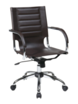 Trinidad Office Chair - Espresso Vinyl