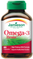 Jamieson Omega-3 Brain Softgels, 1,000 mg