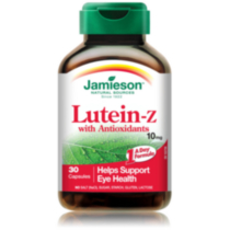Jamieson Lutein-Z™ with Antioxidants Capsules, 10 mg