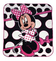 "Disney Minnie Mouse Micro ""50x60"" Plush Throw"