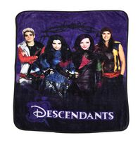"Disney Descendants Micro ""50x60"" Plush Throw"
