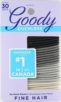 Goody Ouchless Stone No Metal Elastics 2mm - Assorted