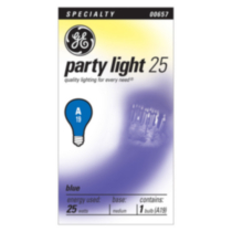 GE 25W Blue A19 Bulb 1 pack