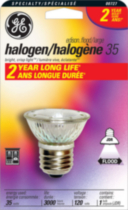 GE 35W Halogen Floodlight, 1pk