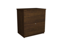 Bestar Standard lateral file Dark Brown