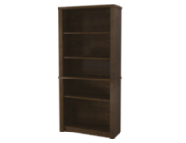 Prestige + Modular bookcase Dark Brown