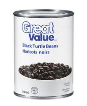 Haricot noirs de Great Value