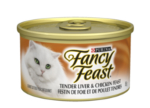 Fancy Feast Tender Liver & Chicken Feast™ Gourmet Cat Food