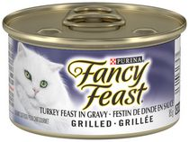 Purina Fancy Feast Turkey™ Feast in Gravy Grilled Cat Food