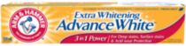 Dentifrice - ARM & HAMMER(MC) Extra blanchissant Advance WhiteMC Triple action, 120mL