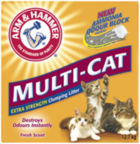 ARM & HAMMER® Multi-Cat Strength Clumping Litter 12.7 Kg
