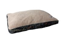 Mossy Oak Large Rectangle Pet Bed - Beige