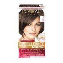 L'oreal Paris Excellence Non-Drip Crème F Medium Brown Triple Protection Colour