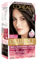 L'oreal Paris Excellence Non-Drip Crème G Dark Brown Triple Protection Colour
