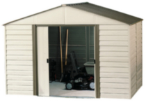 Arrow Storage Milford 10' x 12' Vinyl Shed