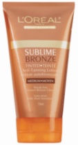 Sublime Bronze Lotion Autobronzante Tintée Medium