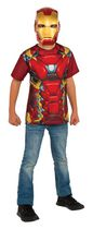 Rubie's Catpain America: Civil War Iron Man T-Shirt Child Costume
