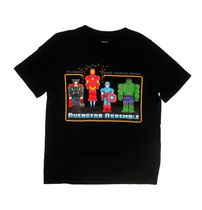 Marvel Avengers Boys' Short Sleeve Crew Neck T-shirt