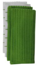 Mainstays Kitchen Towel 4 pack Green