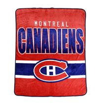 NHL Montreal Canadiens Luxury Velour Blanket
