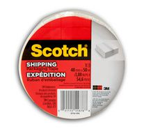 Scotch® 3710, 48 mm x 50 m Shipping Tape