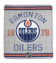 NHL Edmonton Oilers Classique Fan Throw