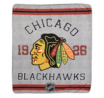 NHL Chicago Blackhawks Classique Fan Throw