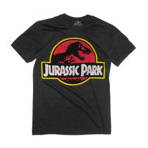 Jurassic Park Men's Short Sleeve Graphic Tee L