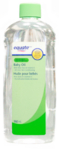 Equate Aloe Vera and Vitamin E Hypoallergenic Baby Oil