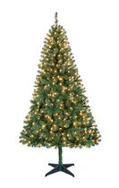 Holiday Time Madison™ 6.5' Green Pine Christmas Tree with Clear Lights