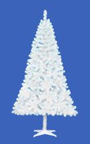 Holiday Time Madison™ 6.5' White Pine Christmas Tree with Blue Lights