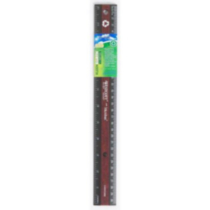 "12"" Westcott Faux Wood Ruler"